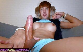 Huge cock mature ladyboy anal doggystyle