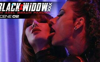 WickedPresents - Black Widow Begs Of Petra's Horseshit